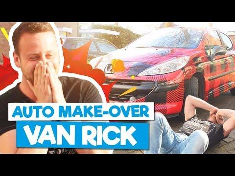 AUTO MAKE-OVER VAN RICK! - Backstage Serie #5