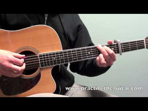 How To Play-Sure Be Cool If You Did-Acoustic Guitar Lesson-Blake ...