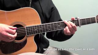 How To Play-Sure Be Cool If You Did-Acoustic Guitar Lesson-Blake Shelton-With Tablature