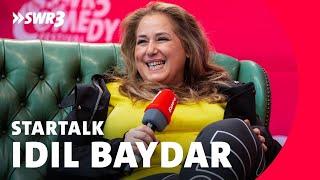 Idil Baydar im Live-Talk beim SWR3 Comedy Festival 2018