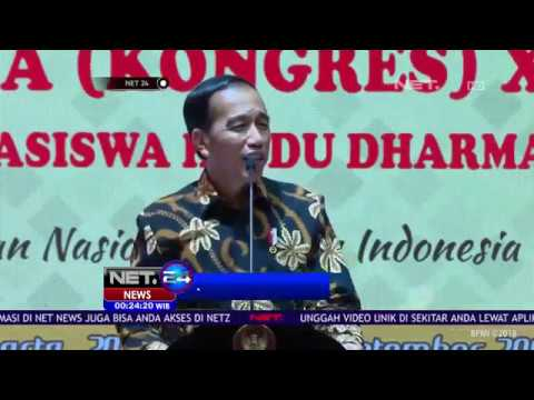 Pernyataan Jokowi Terkait Aksi Stuntman Asian Games 2018-NET24