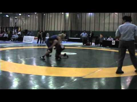 2009 Junior National Championships: 59 kg Celeste Rodrigues vs. Liz Sera