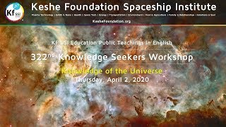 322nd Knowledge Seekers Workshop - Thursday, April 2, 2020, 9 am CEST