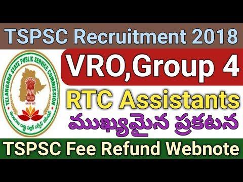 TSPSC Official Webnote