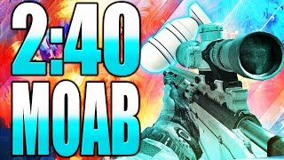 MW3: INSANE 2:40 SNIPER MOAB! (Call of Duty Modern Warfare 3 Multiplayer Gameplay)