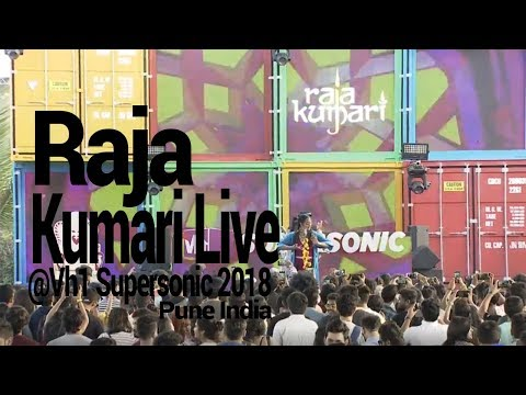 Raja Kumari Live at Vh1 Supersonic 2018 Day 2 Pune India(Exclusive)