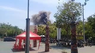 Viral Kebakaran Rita Supermall tegal