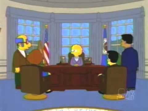 The Only Mention of 'President' Trump in The Simpsons