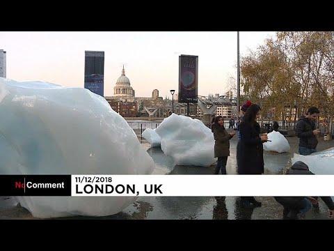 شاهد: كتل جليدية في لندن للفت الأنظار نحو أزمة الاحتباس الحراري …  - نشر قبل 6 ساعة