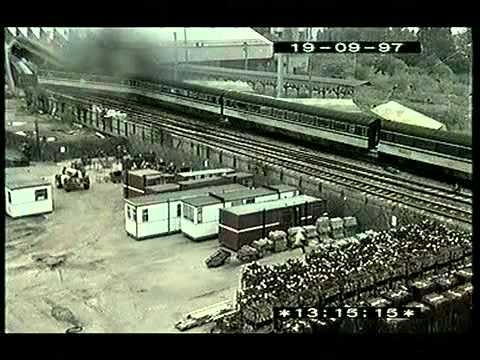 Train Crash Southall 1997 CCTV Footage of Crash