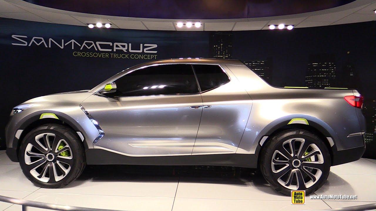 Hyundai Santa Cruz Crossover Truck Concept Exterior