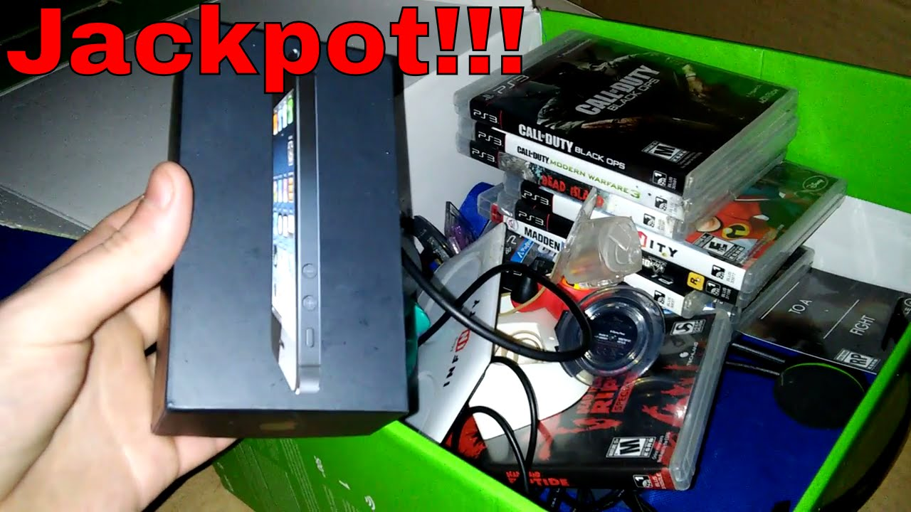 jackpot gamestop dumpster dive night 127 gamestop dumpster dive night 127