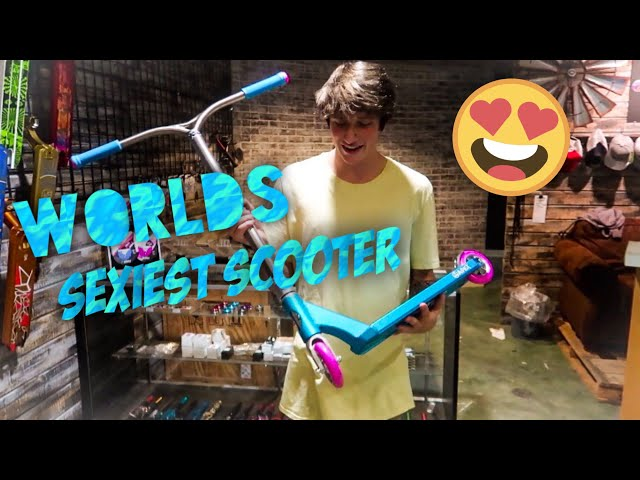 BUILDING WORLDS SEXIEST SCOOTER! (not clickbait)