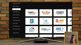 Tìm kiếm & Xem truyền hình trên Clip TV Box