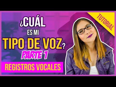 Cuál es mi tipo de voz | Parte 1 | Registros Vocales