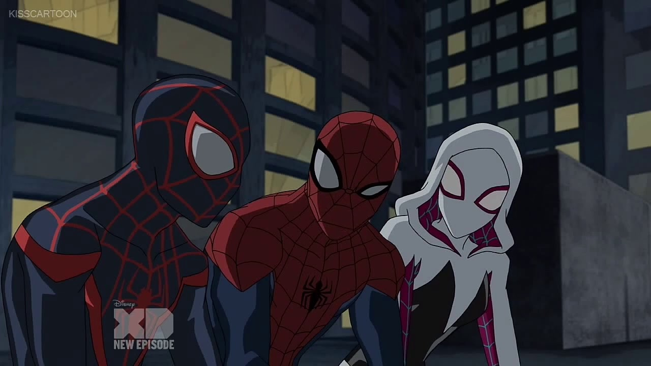 spider-gwen scenes in ultimate spider-man part 3 - youtube