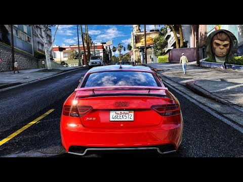 ► GTA 6 Graphics - Audi RS5! ✪ M.V.G.A. - Gameplay! 2017 Realistic Graphics MOD 60FPS