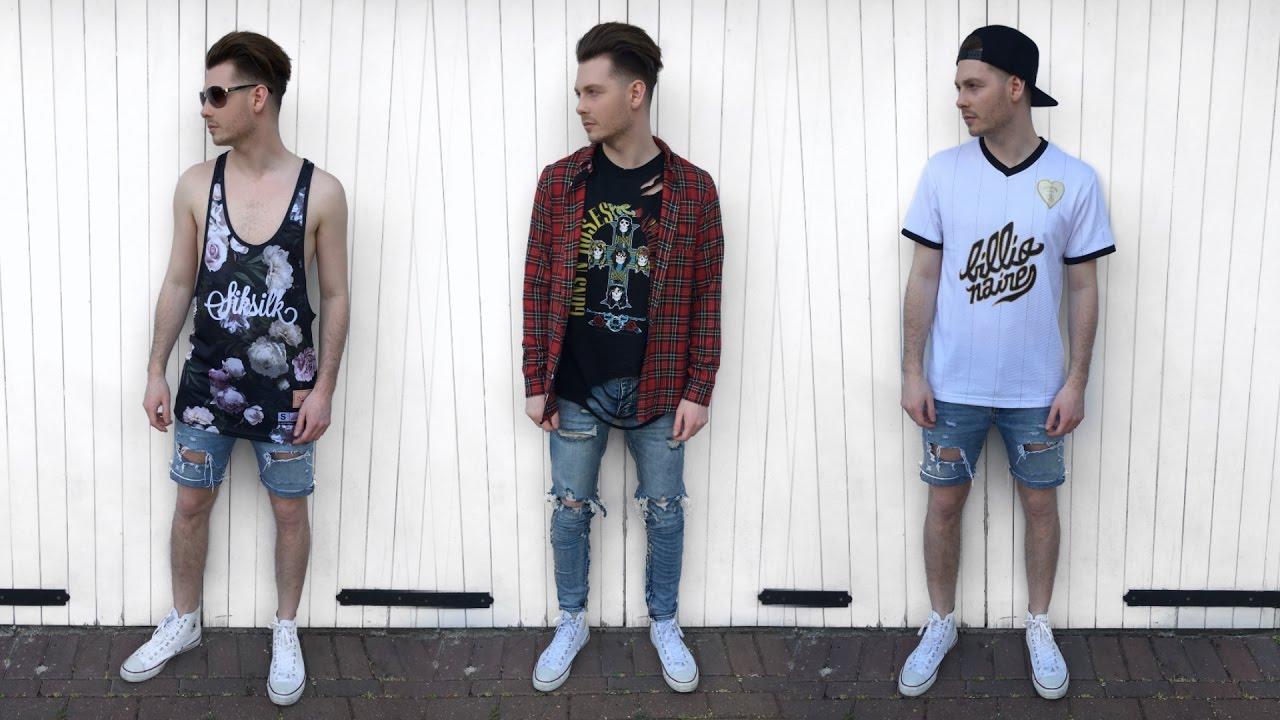 98e40de049c Mens Fashion Haul Spring   Summer 2017 - Streetwear Pick Ups - YouTube