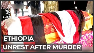 Two dead as soldiers block mourners at Ethiopian singer's funeral
