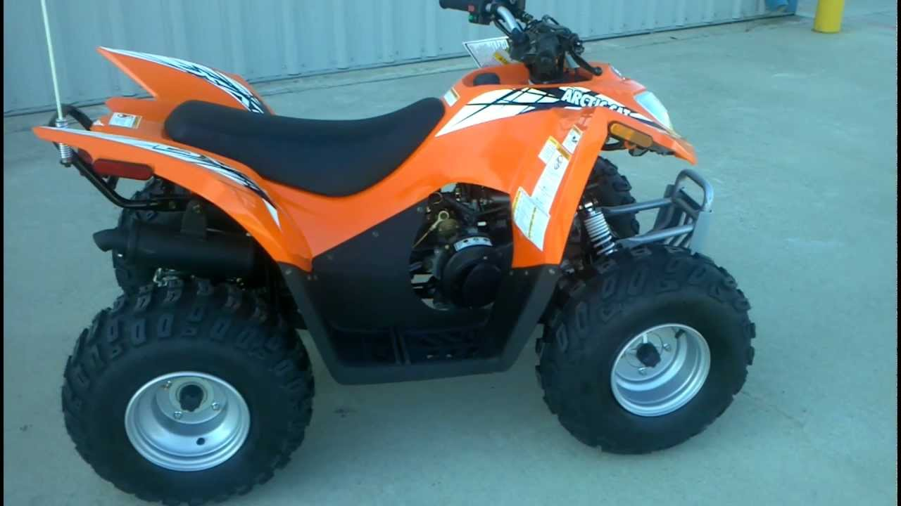 2013 Arctic Cat DVX 90 Youth ATV with reverse and electric start  YouTube