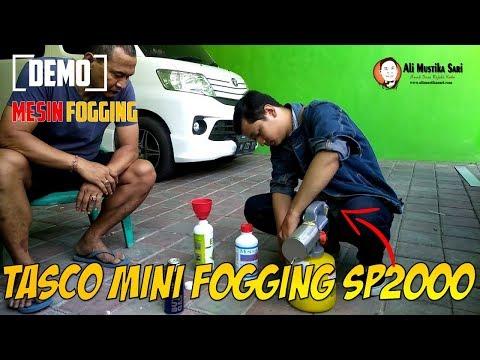Demo Mesin Fogging - Cara Menggunakan Tasco Mini Fogging SP2000 Professional Series
