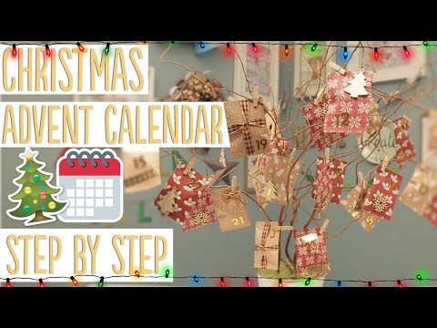 Easy DIY Christmas Advent Calendar Tutorial