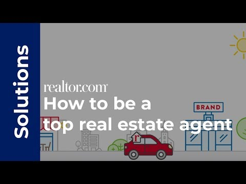 how to become a top real estate agent