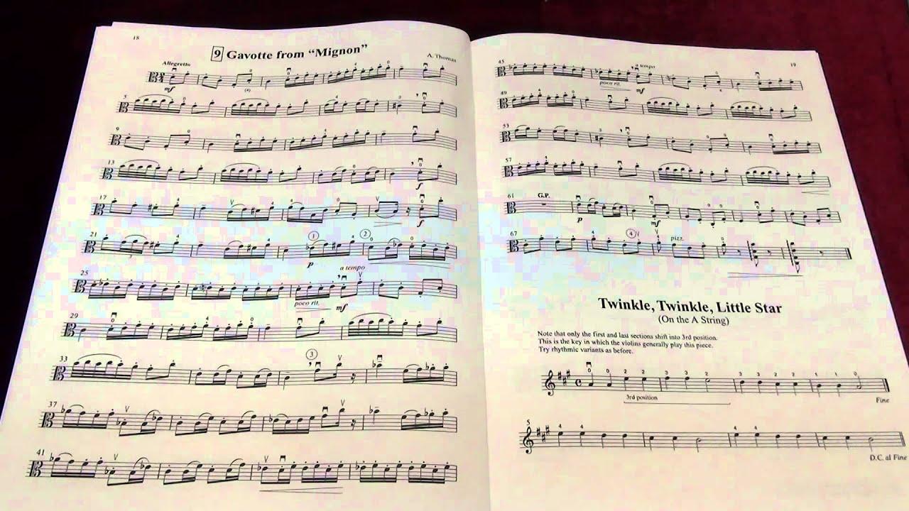 Suzuki Viola Vol.2 No.9 Gavotte from Mignon - YouTube
