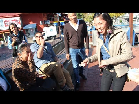 South African Magician | Cape Town Magician | Street Magic Performance