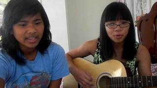 Hey Soul Sister / Talking to the Moon (Mashup Cover  by Rosalyn Alejo and April Ocampo)