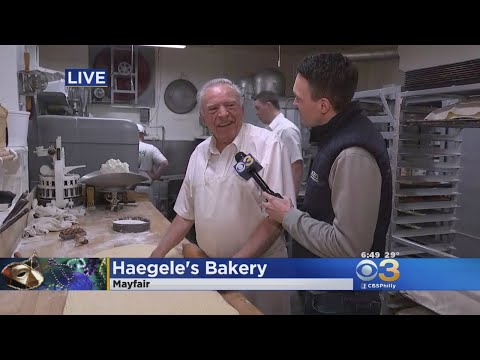 It's Fastnacht Day At Haegele's Bakery