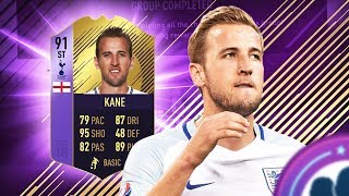 FIFA 18 I GOT 91 RATED POTM HARRY KANE FOR 20K COINS! FIFA 18 ULTIMATE TEAM PLAYER REVIEW!