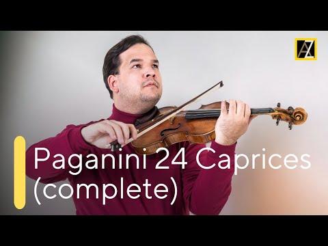 PAGANINI: 24 Caprices [Official Video] - Antal Zalai, violin