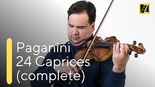 PAGANINI: 24 Caprices - Antal Zalai, violin