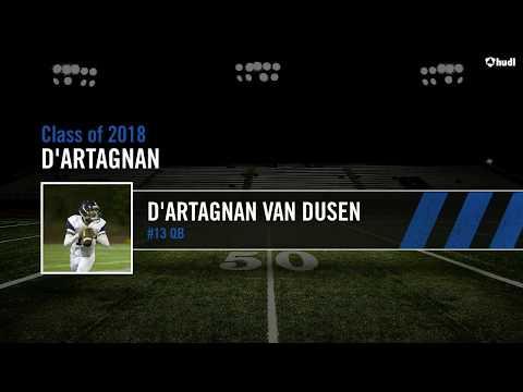 D'Artagnan Van Dusen QB #13 - Horizon Christian Academy Jr. Year