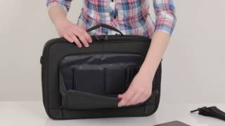 8431 black Clamshell briefcase…