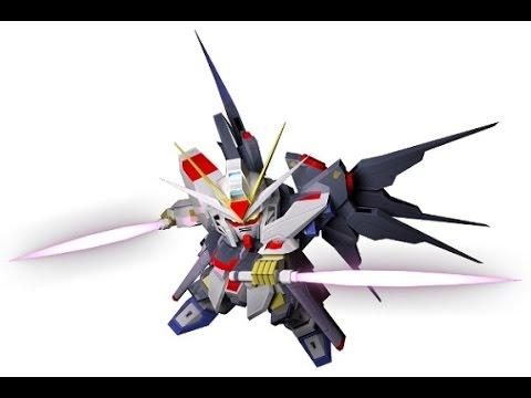 Sdgo Tw Strike Freedom Gundam Riemann Youtube