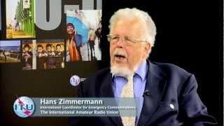 ITU INTERVIEWS @ TDAG: Hans Zimmermann, International Amateur Radio Union (IARU)