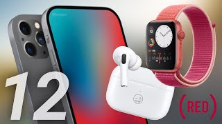 iPhone 12 No Notch, AirPods Pro Engraving & (RED) Apple Watch Series 5!