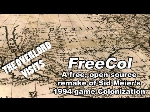 The Overlord Visits: FreeCol - A Cold New World