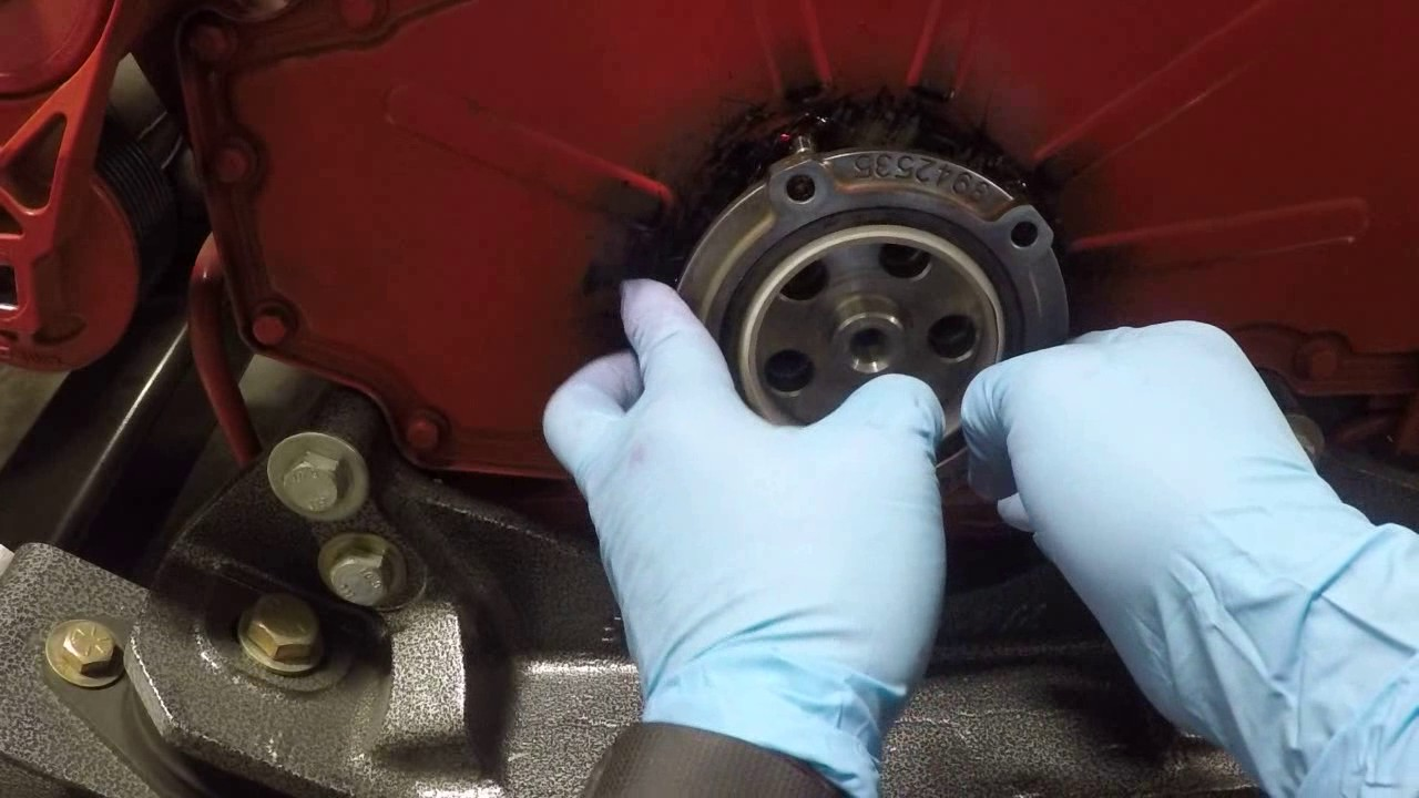 Cummins Front Crankshaft Seal Install