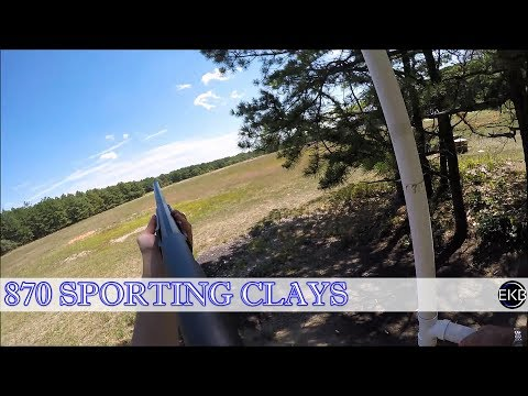 Remington 870 Shotgun | Sporting Clays | Yaphank Shooting Range NY