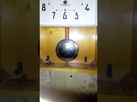 Часы ОЧЗ Янтарь после замены пендельфедера