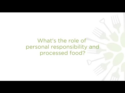 "What does ""personal choice"" mean when it comes to food?"