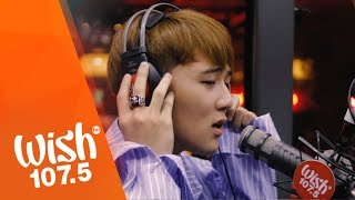 "JinHo Bae sings ""Nanghihinayang"" LIVE on Wish 107.5 Bus"