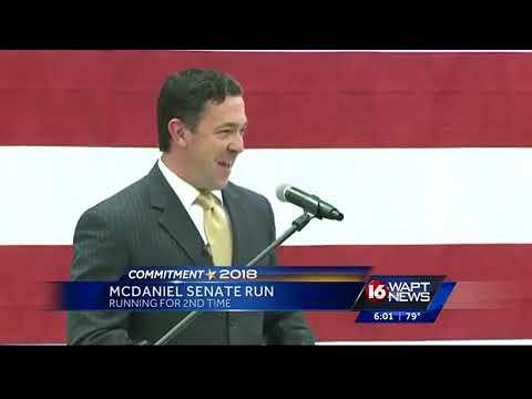McDaniel challenges Wicker in race for U.S. Senate