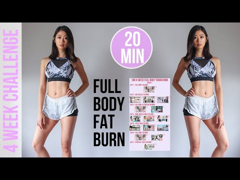 4-WEEK FULL BODY TRANSFORM WORKOUT PROGRAM | 20 min Fat Burning HIIT #EmiTransform