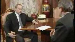 В.Путин.Интервью телеканалу ОРТ (Putin) 15.01.00 Part 1