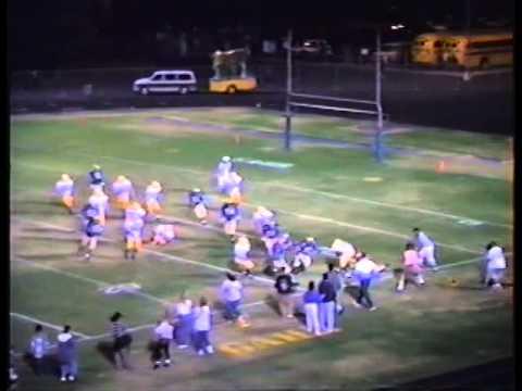 Norwalk vs Gahr 10 7 94 OG Tape- Football Game Film