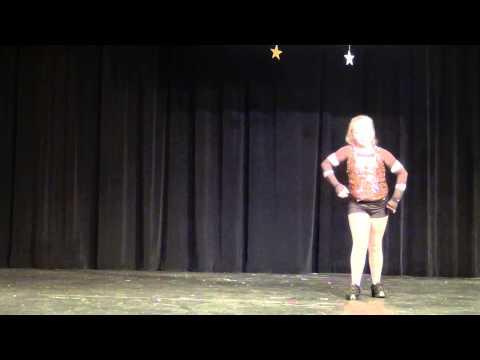 Brooke Albertson Hip Hop dancing @ School talent show 2013. This Girl is AMAZING!